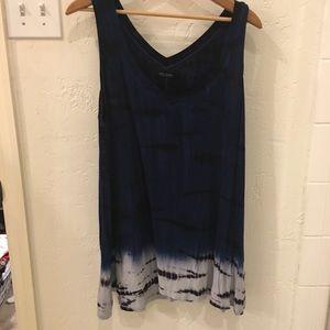 Max Jeans tie dye knit tunic style tank